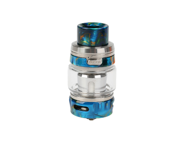 GeekVape Alpha Subohm clearomizer Silver & Flare Resin