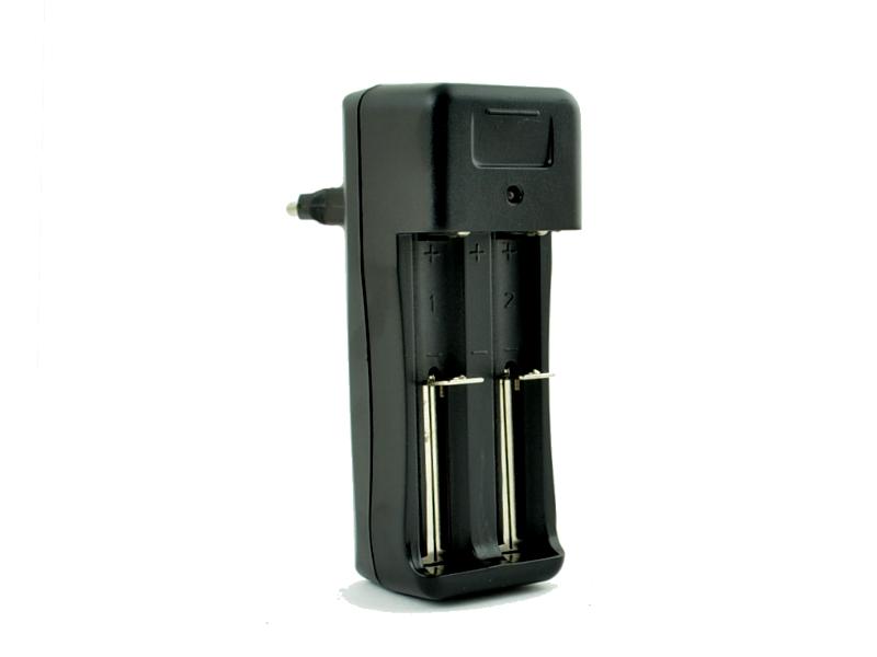 Nabíječka baterií 18350 a 18650, dva sloty