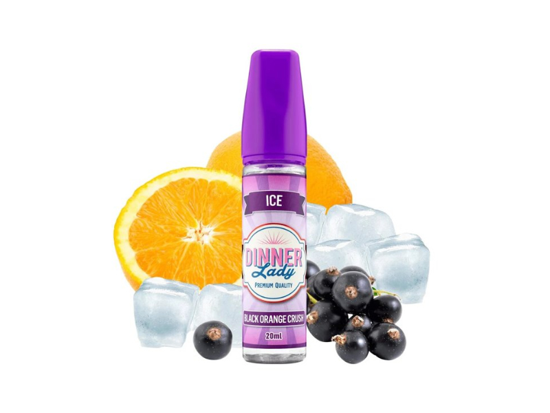 Dinner Lady Ice Black Orange Crush 20ml