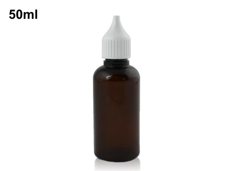 Prázdná lahvička s kapátkem 50ml