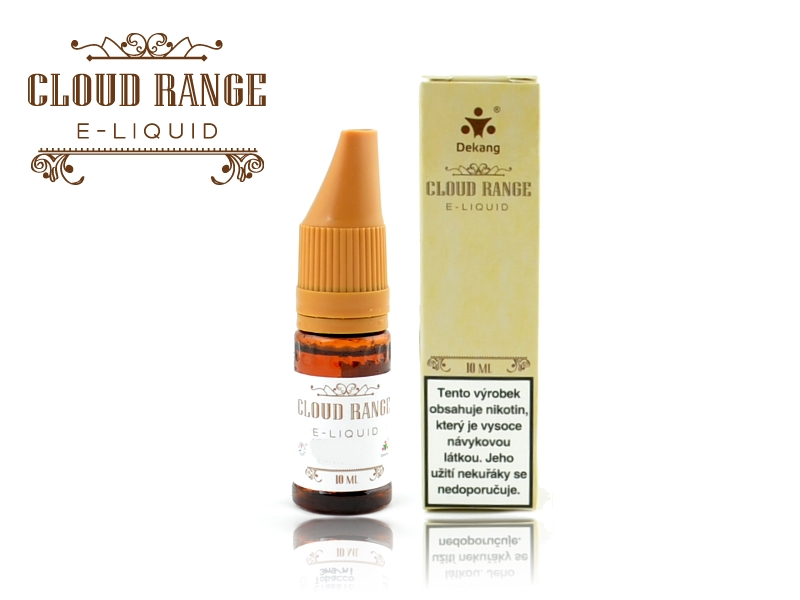 Liquid Dekang CLOUD RANGE 10ml, Fancy Peach/Broskev, 0mg