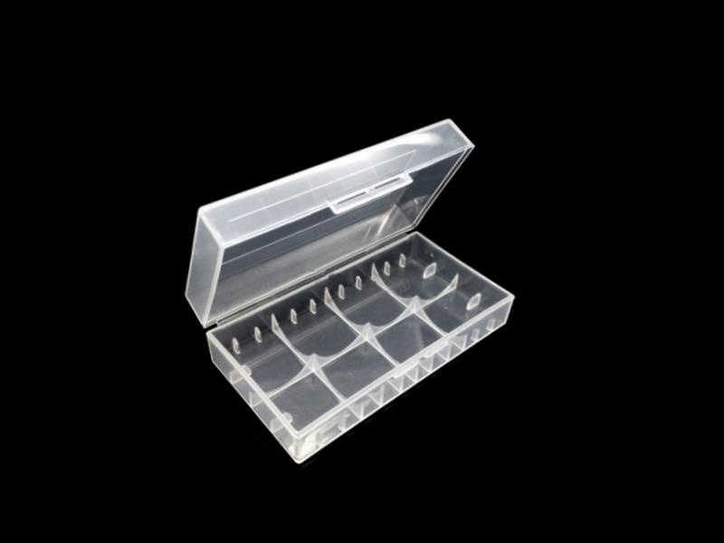 Plastové pouzdro pro 2ks baterie 18650