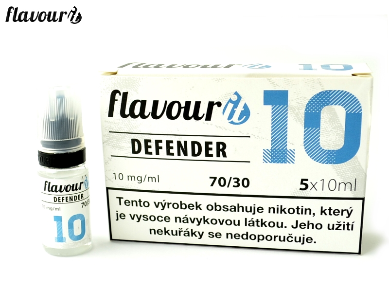 Flavourit BOOSTER DEFENDER 70/30 Dripper 5x10ml, 10mg