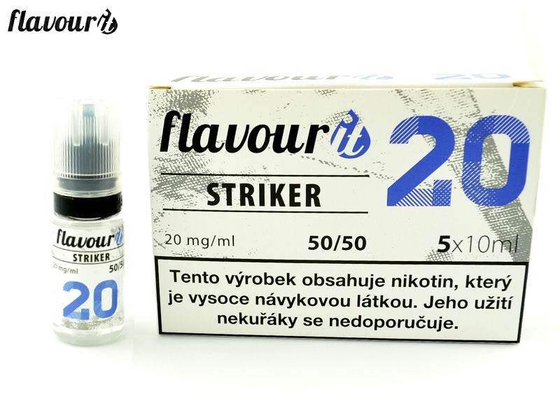 Flavourit BOOSTER STRIKER 50/50 5x10ml, 20mg