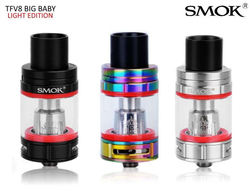 SMOK Clearomizér TFV8 Big Baby Light Edition 5ml