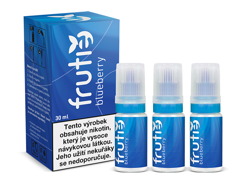 Frutie Borůvka (Blueberry) 30ml