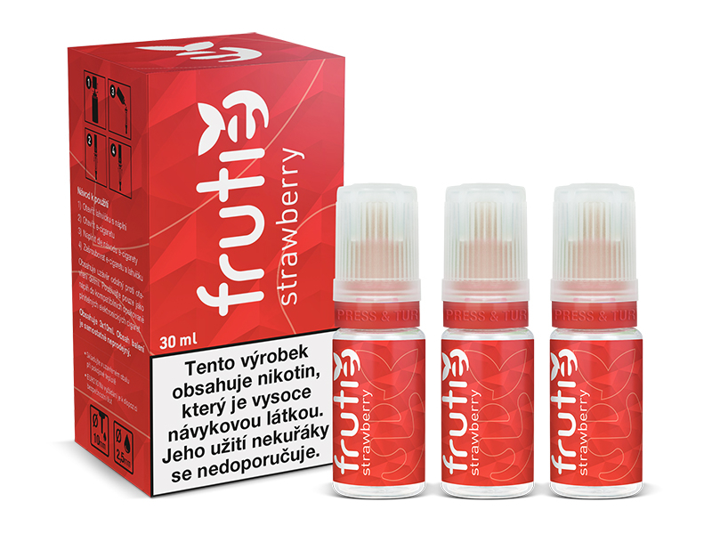Frutie Jahoda (Strawberry) 30ml