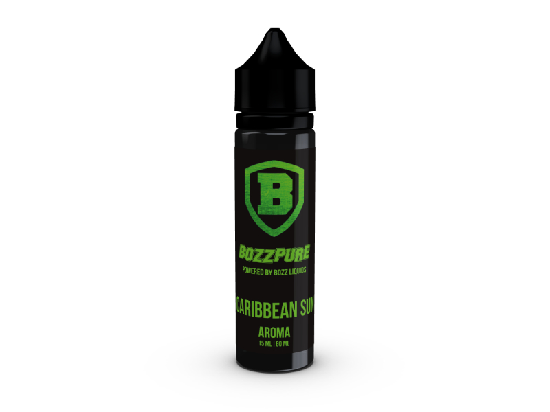 Bozz Pure Příchuť Shake and Vape Caribbean Sun 15ml