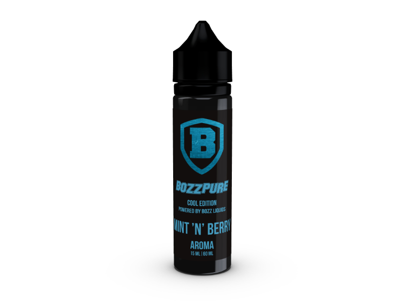 Bozz Pure Příchuť Shake and Vape Mint´N´Berry 15ml