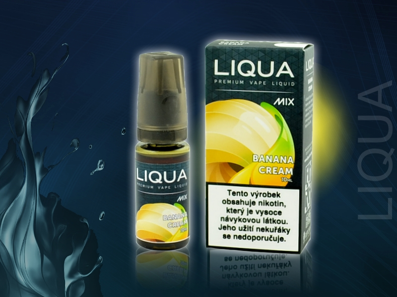Ritchy LIQUA MIX Banana Cream 10ml
