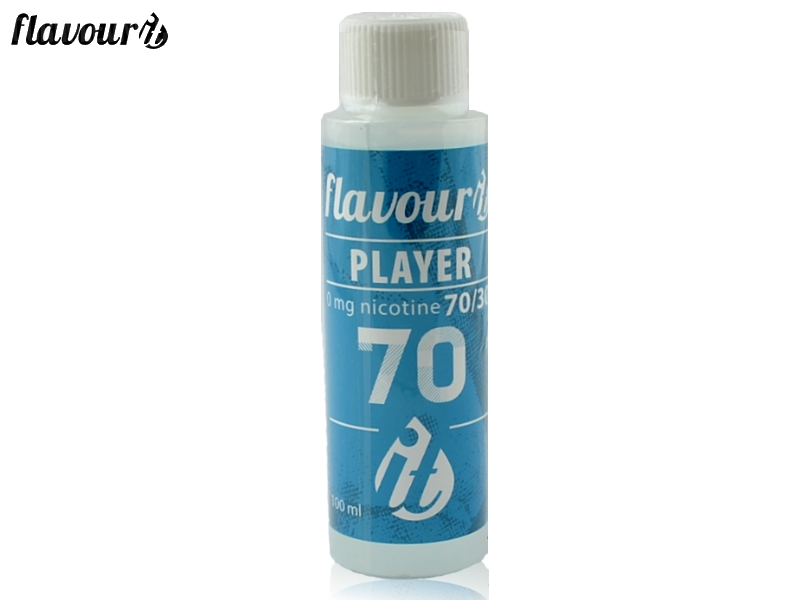 Flavourit PLAYER báze - 70/30 - Dripper 100ml