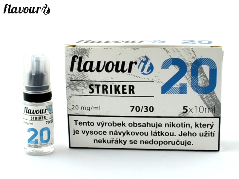 Flavourit BOOSTER STRIKER 70/30 Dripper 5x10ml, 20mg