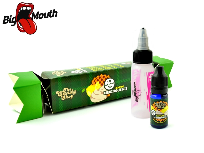 Big Mouth The Candy Shop - Lemon Meringue Pie (Sněhový koláč s citrónem) 10ml