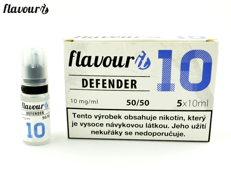Flavourit BOOSTER DEFENDER 50/50 5x10ml, 10mg