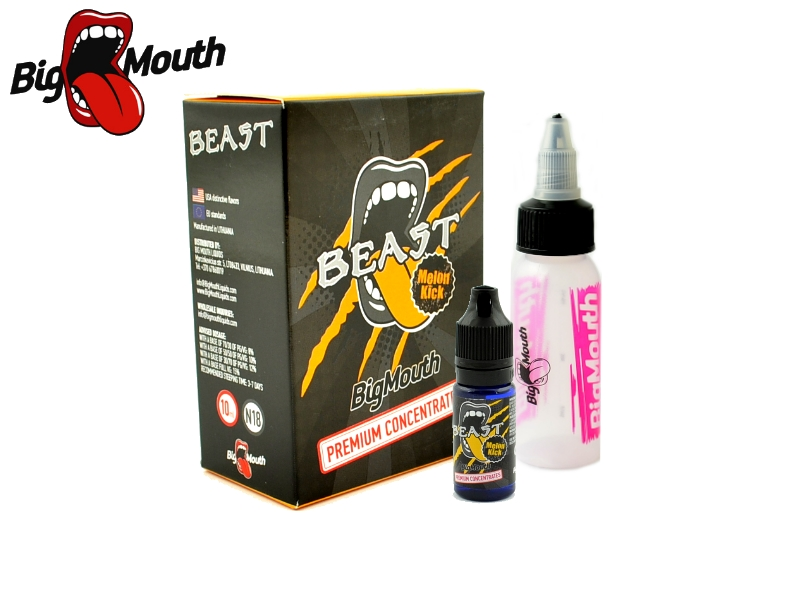 Big Mouth Classical- Beast Melon Kick (energetický nápoj s melounem) 10ml