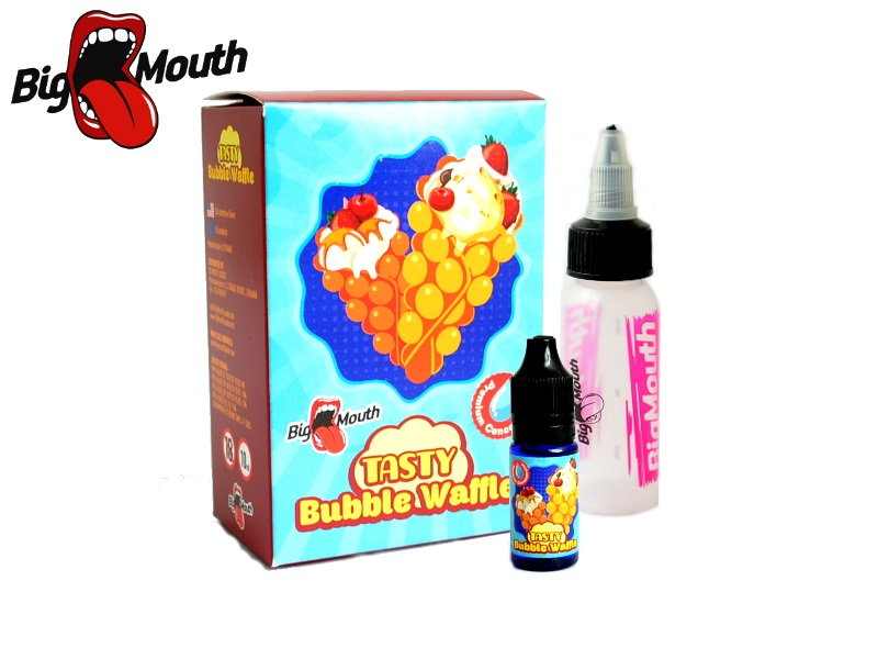 Big Mouth TASTY - Bubble Waffle (bublinkové wafle) 10ml