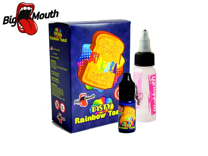 Big Mouth TASTY - Rainbow Toast (toust s džemem) 10ml