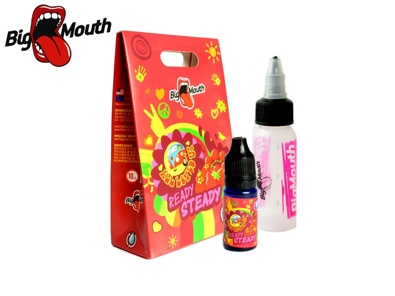 Big Mouth All Loved Up - Ready Steady (jahoda, malina, rybíz) 10ml