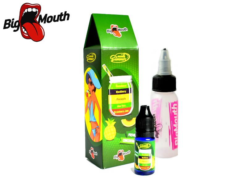 Big Mouth Smooth Summer - Ananas Angrešt (Strawberry Jam, Aloe Vera, Pineapple, Blackberry, Gooseberry) 10ml