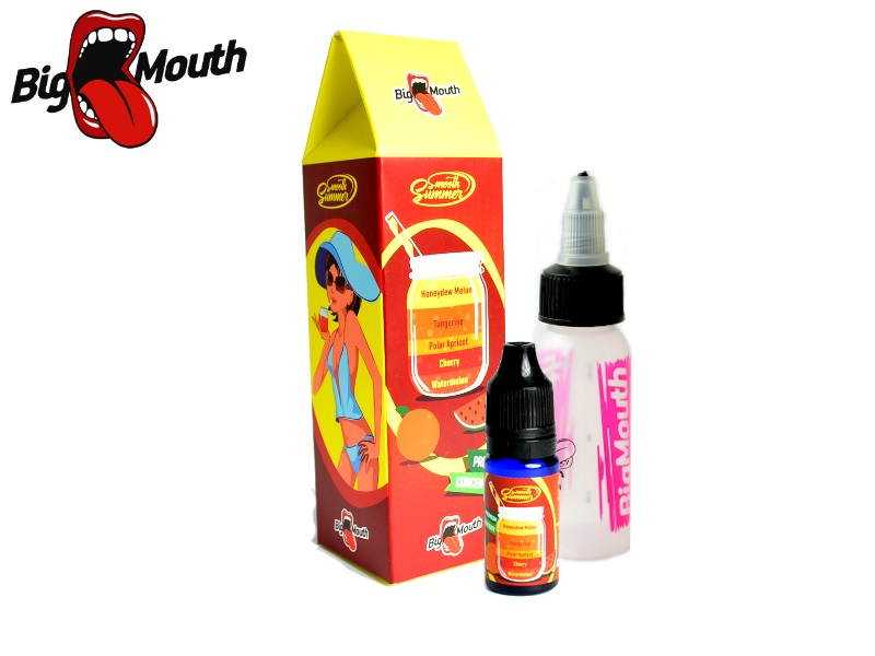 Big Mouth Smooth Summer - Mandarinka a žlutý meloun (Watermelon, Cherry, Polar Apricot, Tangerine, Honeydew, Melon) 10ml