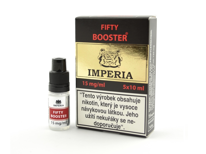 Fifty Booster IMPERIA 5x10ml PG50-VG50 15mg