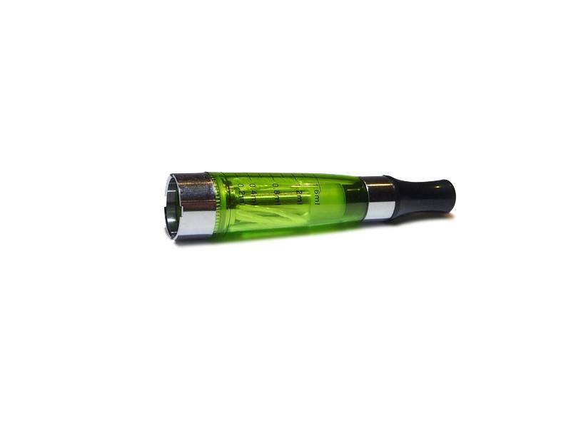 Clearomizér CE 4, dlouhé knoty (zelená)