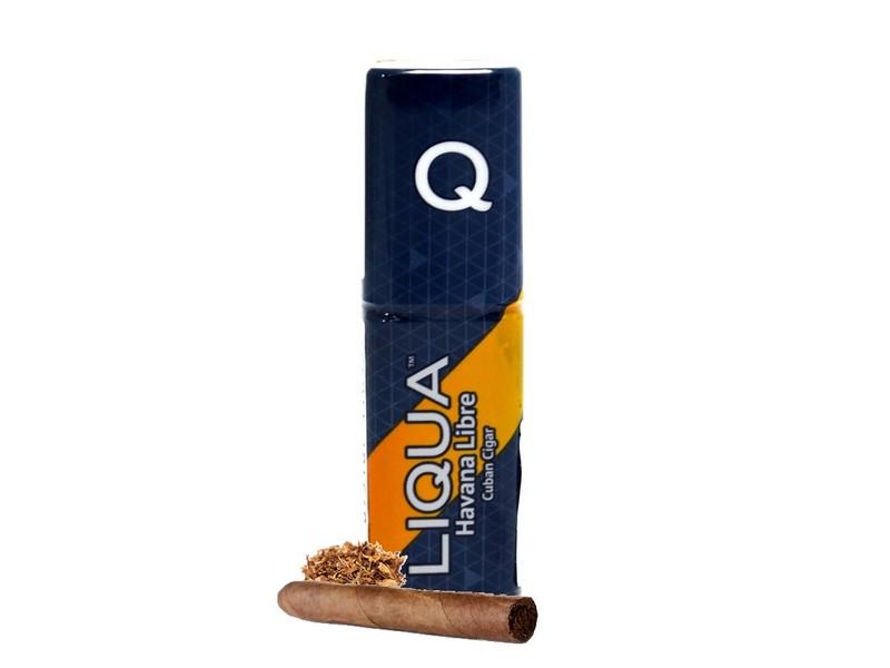 LIQUA Q E-liquid Cuban Cigar / Havana Libre 10 ml, 12 mg