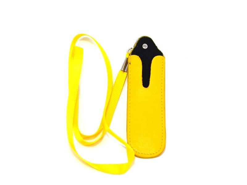 Pouzdro na krk větší (žluté)