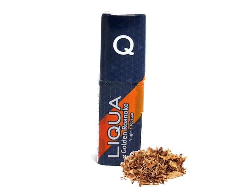 LIQUA Q E-liquid Virginia Tobacco / Golden Roanoke 10 ml, 18 mg