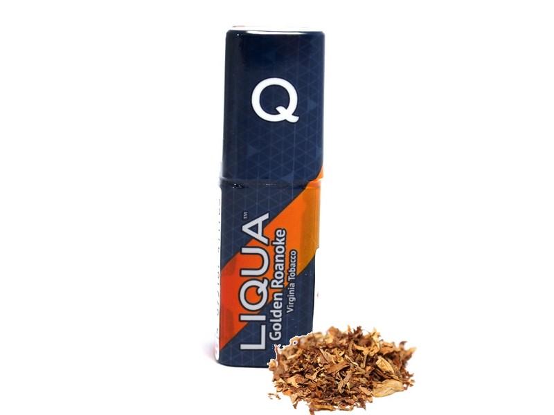 LIQUA Q E-liquid Virginia Tobacco / Golden Roanoke 10 ml, 12 mg